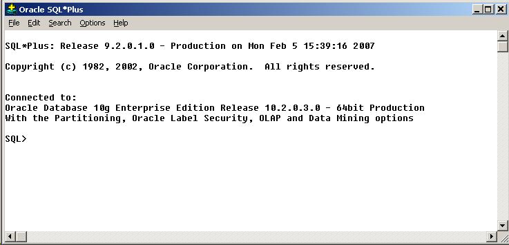 Oracle SQL Plus accept