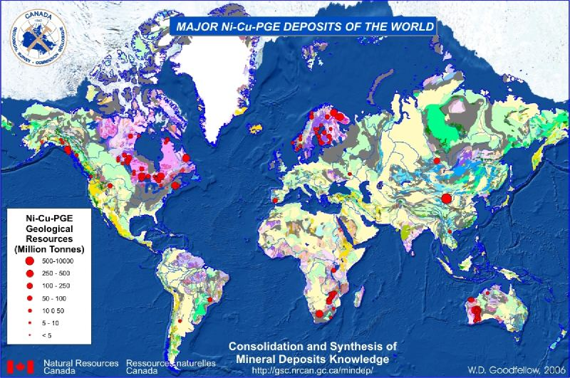 Locations of Deposits