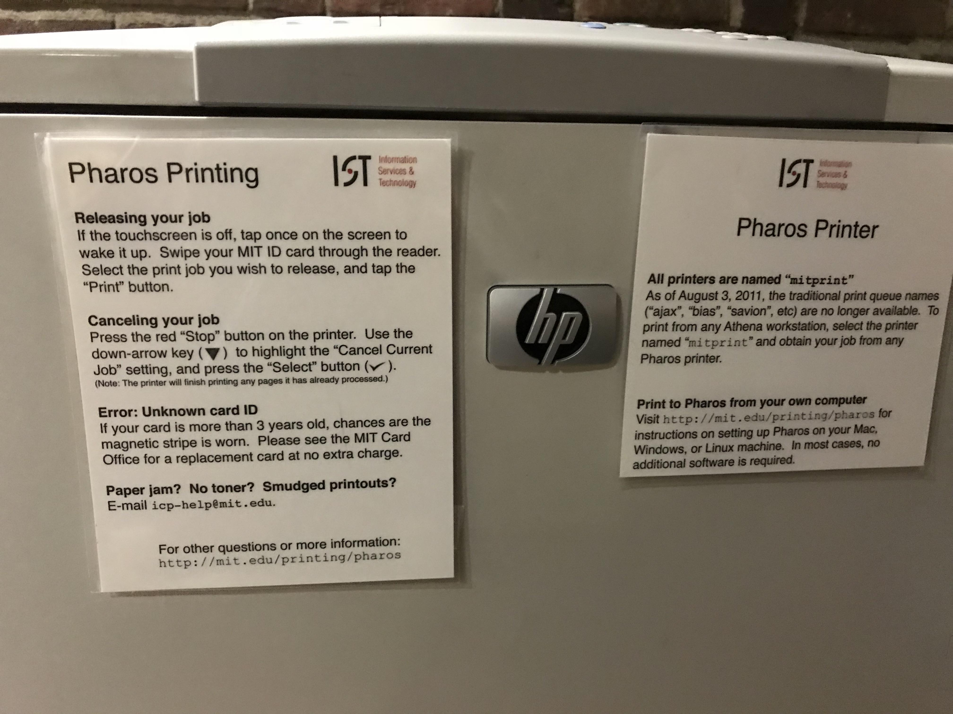 Pharos Printing