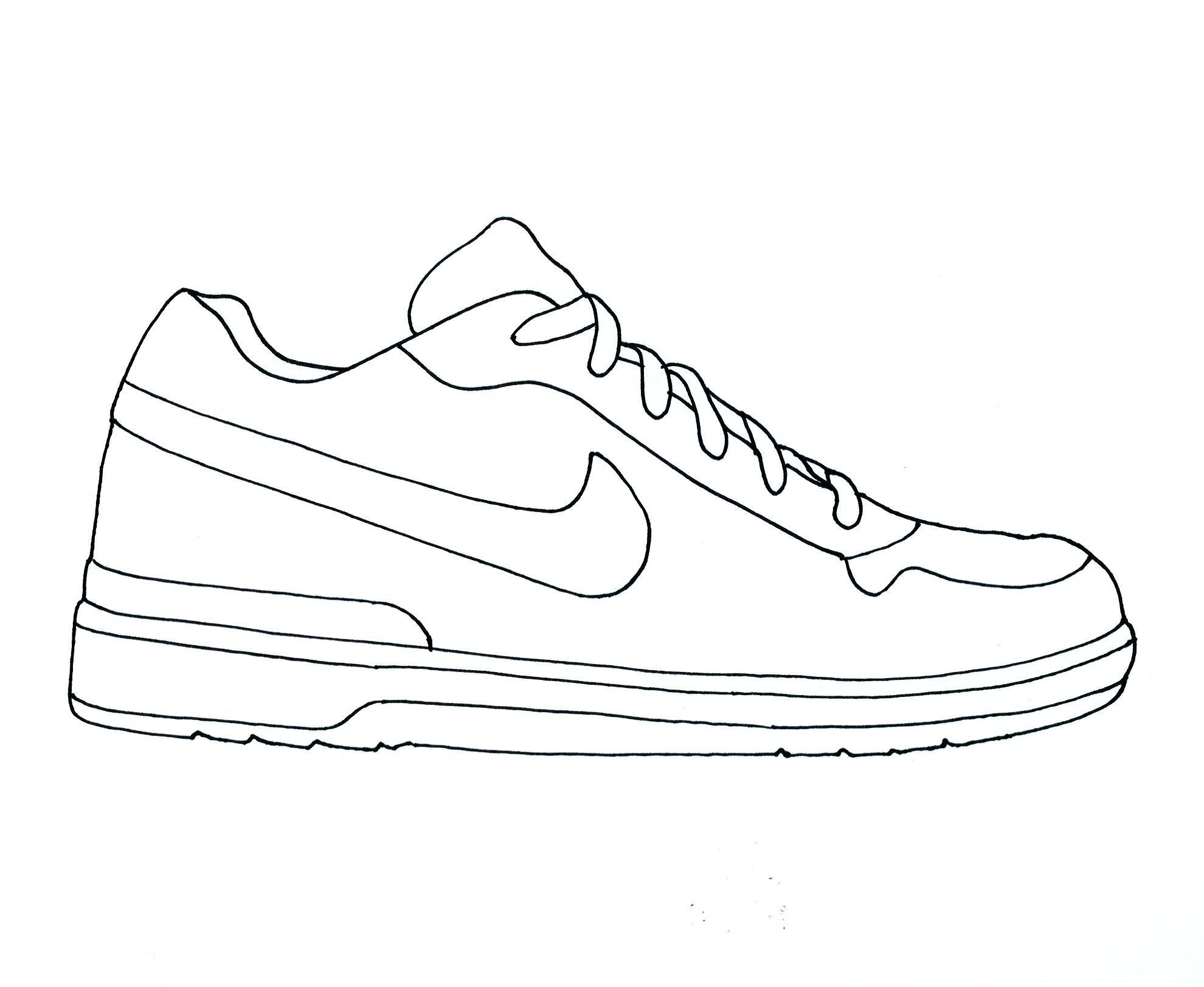 Free Coloring Pages Of Running Shoe Coloring Pages Shoes