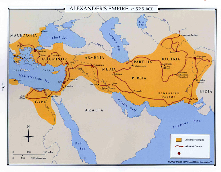 Maps 323 bce the spread of islam 622 750 ce sciox Image collections