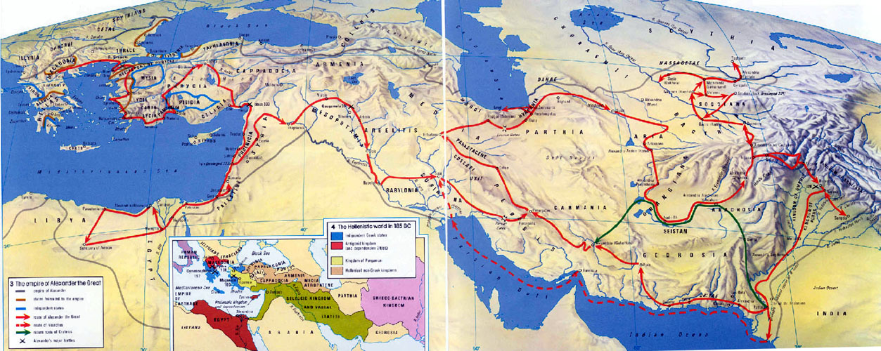 Maps the empire of alexander the great gumiabroncs Gallery