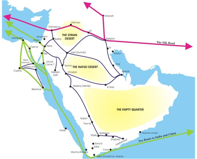 image regarding Silk Road Map Printable known as 01Maps