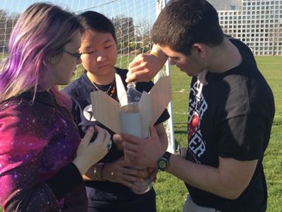 MIT AeroAstro Unfied water bottle rockets Fall 2016