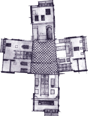 Traditional Moroccan House Plans House Style Ideas