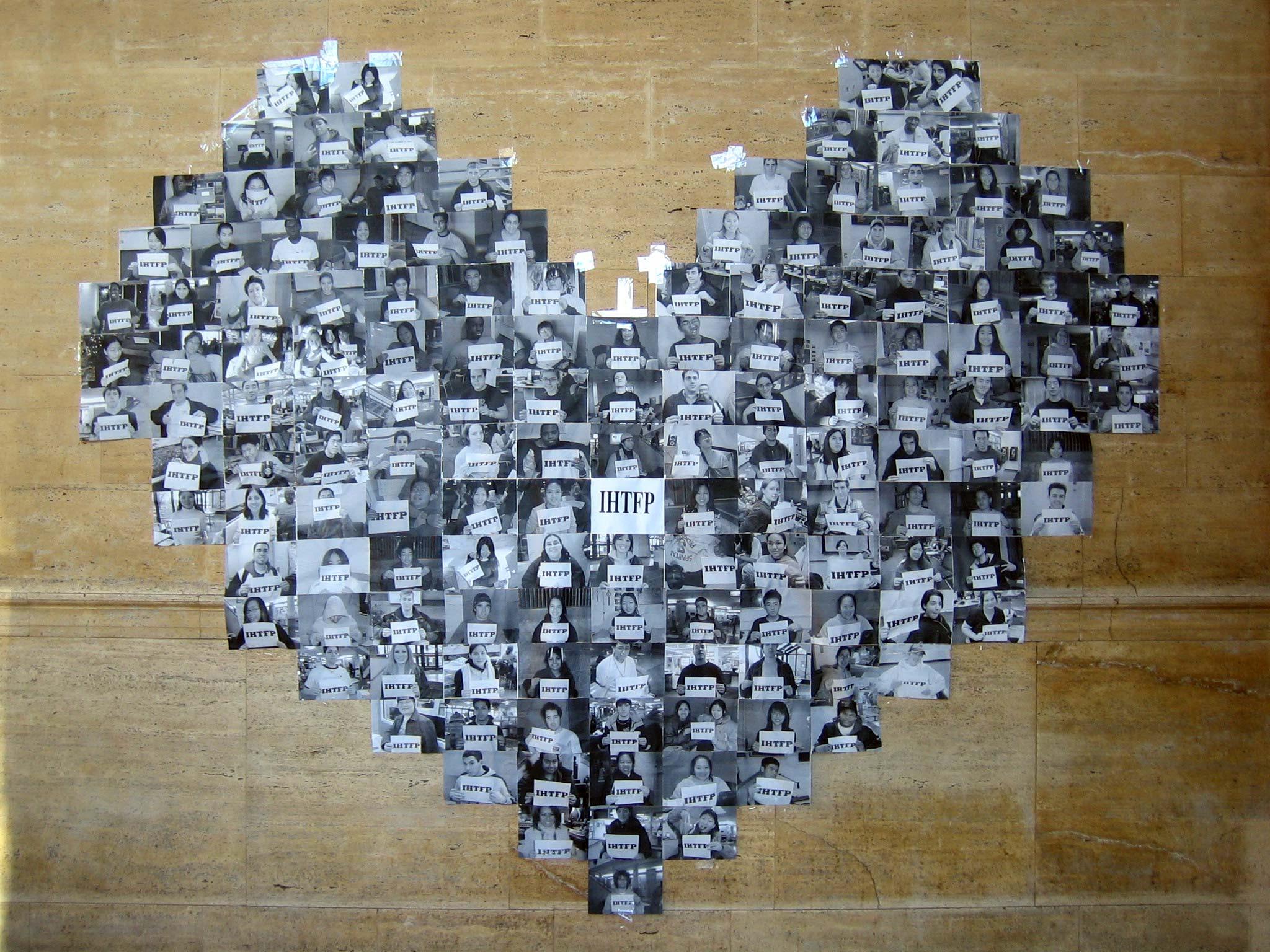 College paper public art project