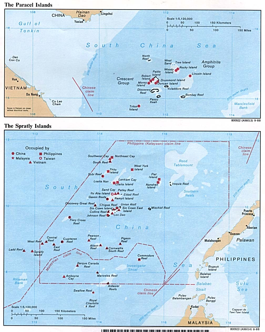 case of spratly island The philippines, along with vietnam, people's republic of china, republic of china (taiwan), malaysia and brunei, is a claimant country in the disputed spratly islands group currently the philippines is occupying ten features (seven islands, three reefs).