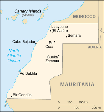 Marocco Cartina.Cascon Case Mom Morocco Mauritania 1957 70