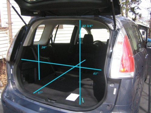 Mazda5 Interior Cargo Flexibility Photos Page 5