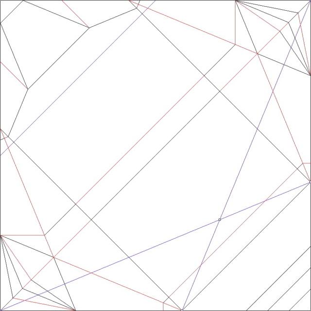 оригами железный человек схема.