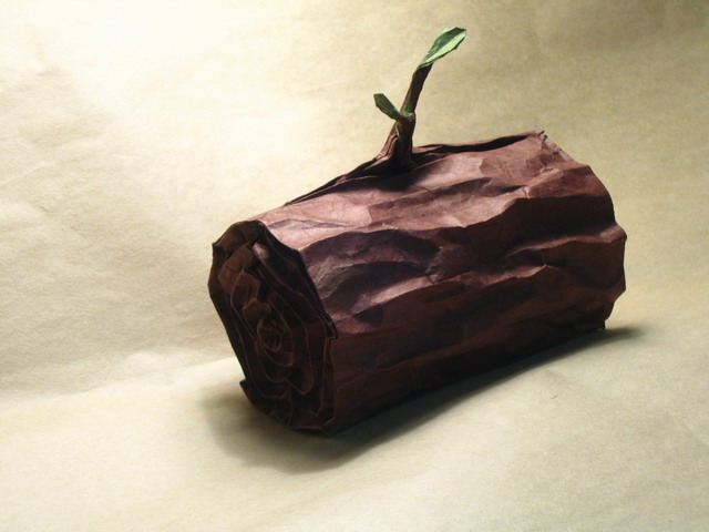 Origami Log (Portrait of Jason Ku)