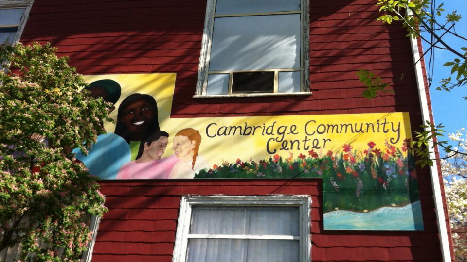 Cambridge Community Center Volunteers and Recipients