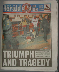 Craigslist N Ms >> Fig. 10: Photograph of the Boston Herald front page ...