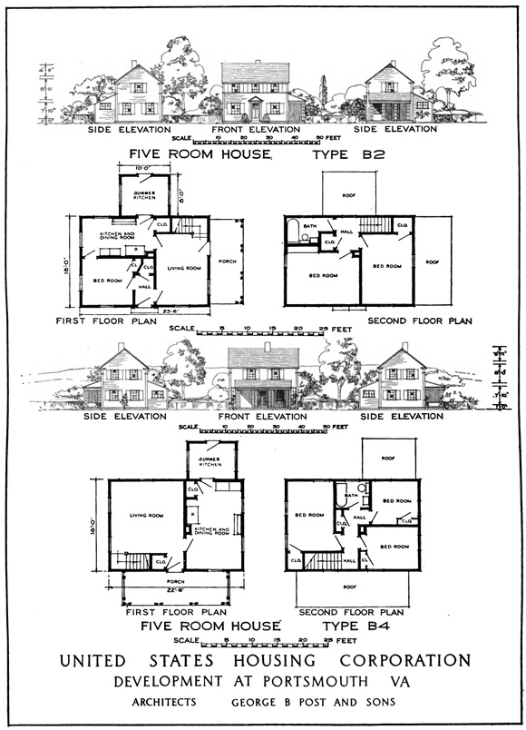 Portsmouth House Plan B House And Home Design