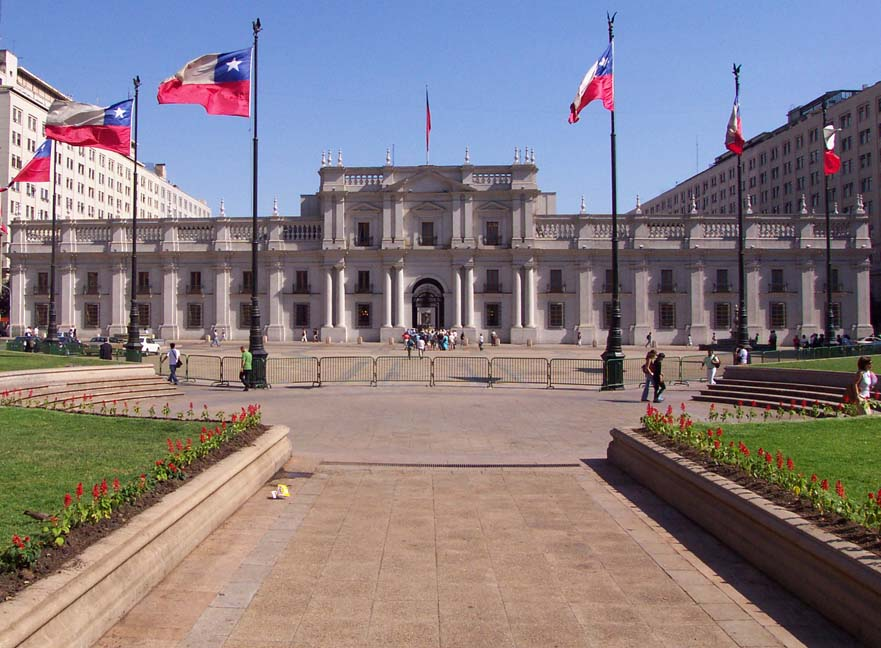 Chilean Presidential Palace Former Presidential Palace