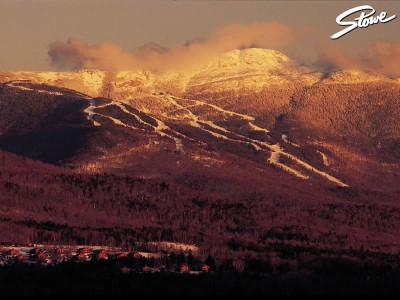 Stowe mountain view