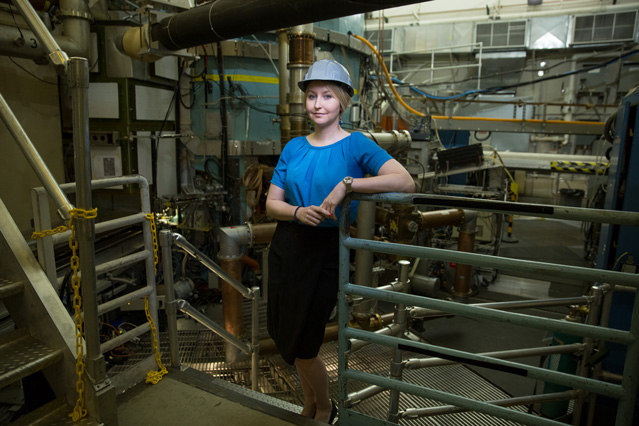 Fusion scientist Anne White is passionate about plasma