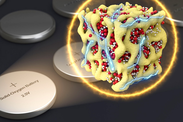 New take on lithium-oxygen batteries improves efficiency, longevity