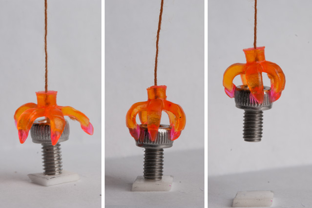 "3-D-printed structures ""remember"" their shapes"