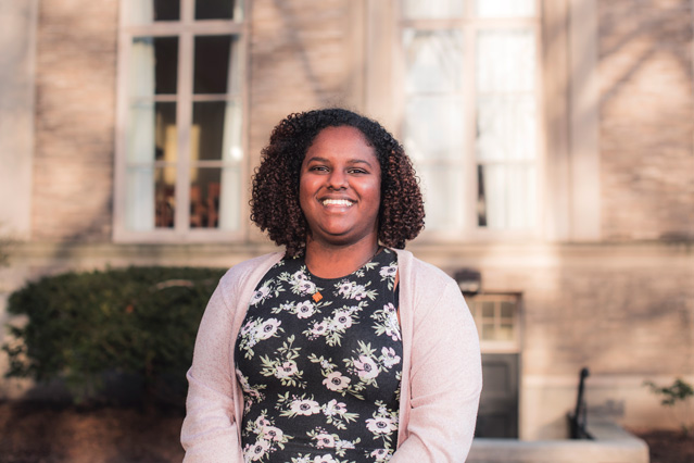 Senior Hermoon Worku is pursuing a career as a physician-advocate