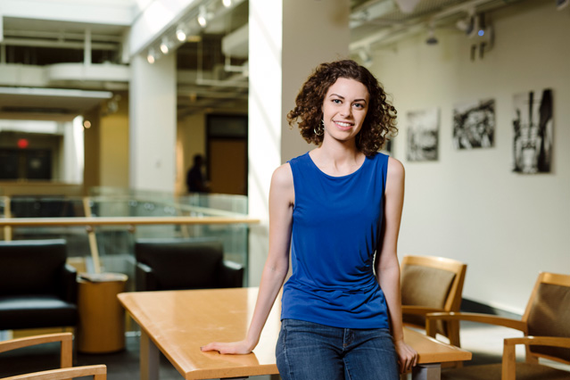 Senior Talia Weiss seeks to bridge the science-policy divide
