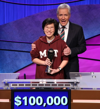"MIT senior Lilly Chin wins ""Jeopardy!"" College Championship"