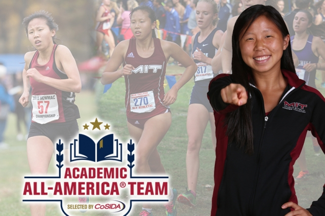 Maryann Gong earns Division III Academic All-America of the Year Award