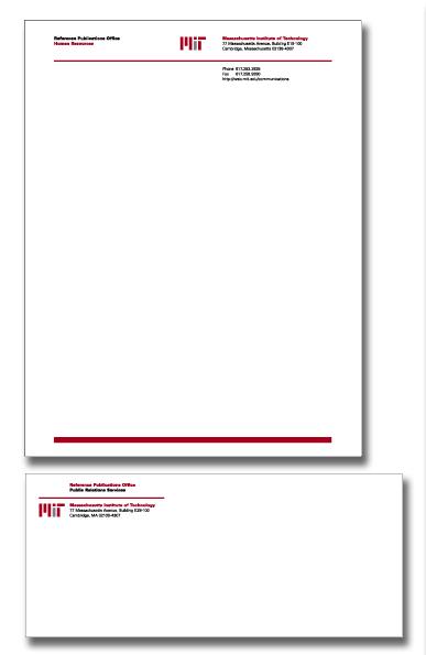 stationery templates