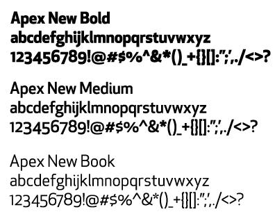 fonts mit graphic identity