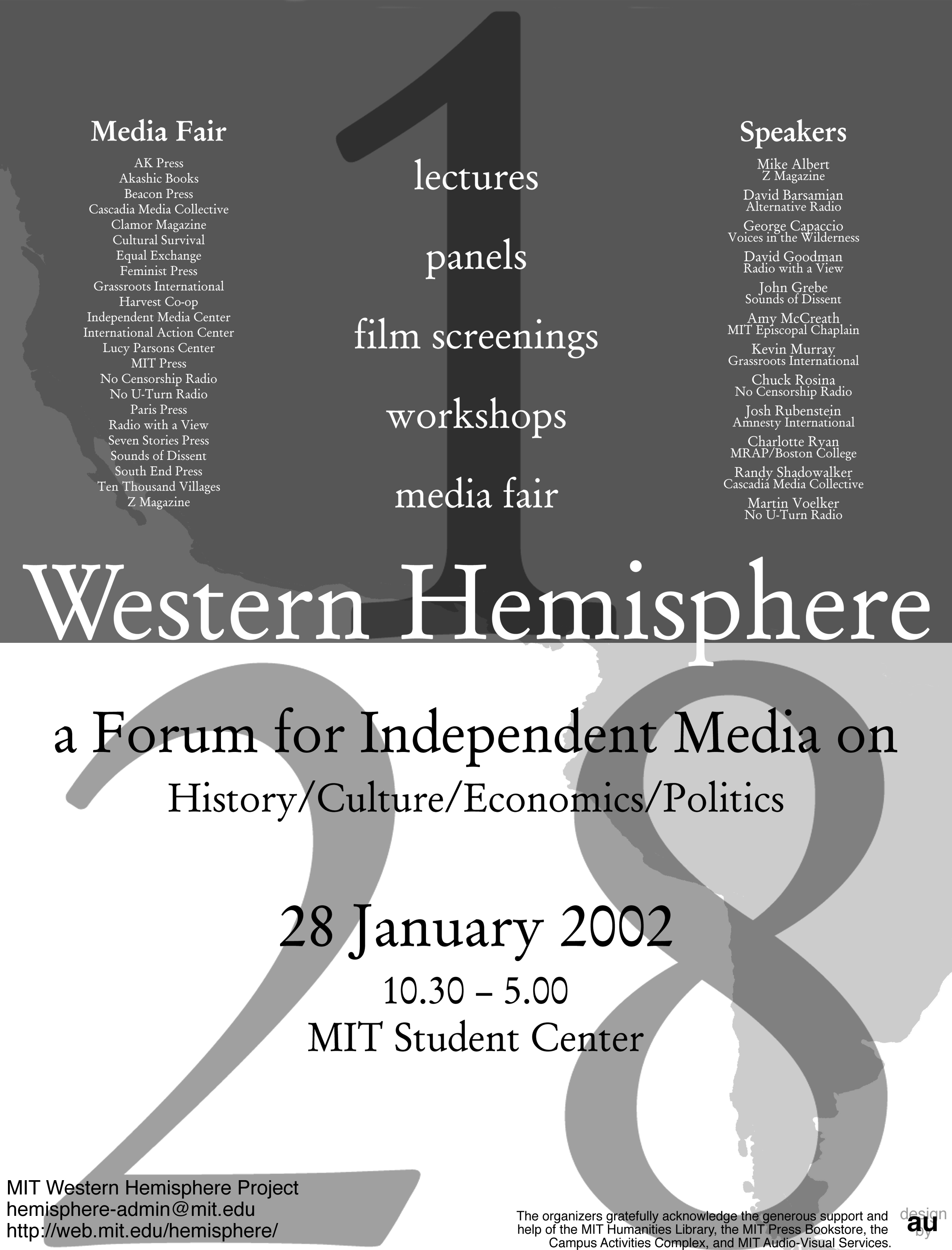 MIT Western Hemisphere Project: Independent Media Forum