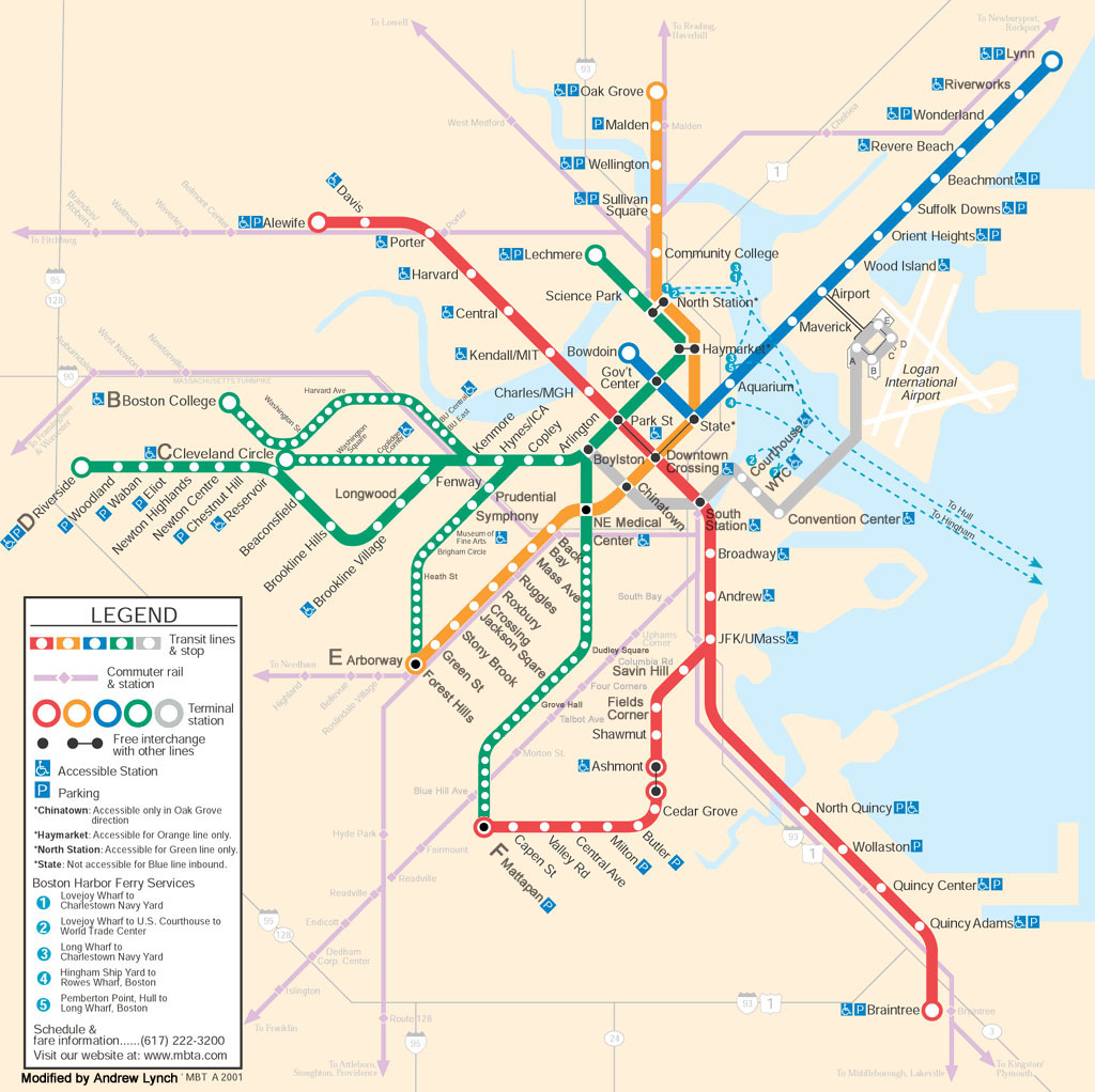 t train boston map Mbta Future Maps t train boston map