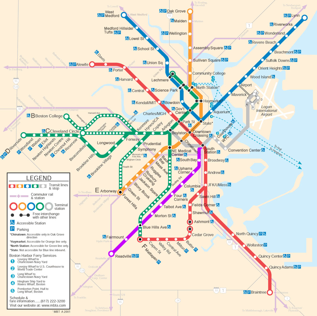 MBTA Future Maps