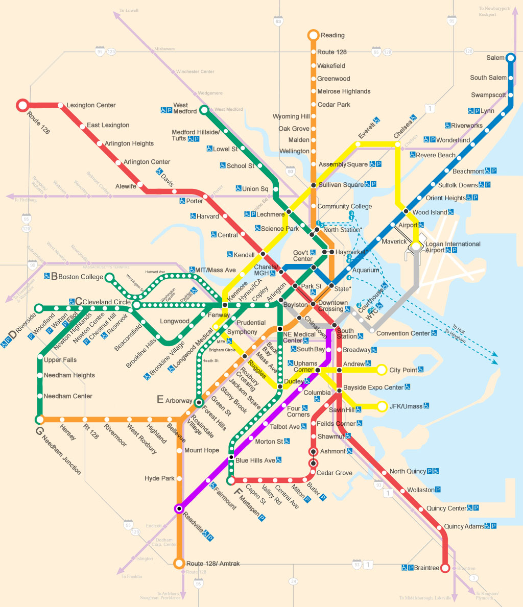 Subway Map Boston Pdf.Mbta Future Maps