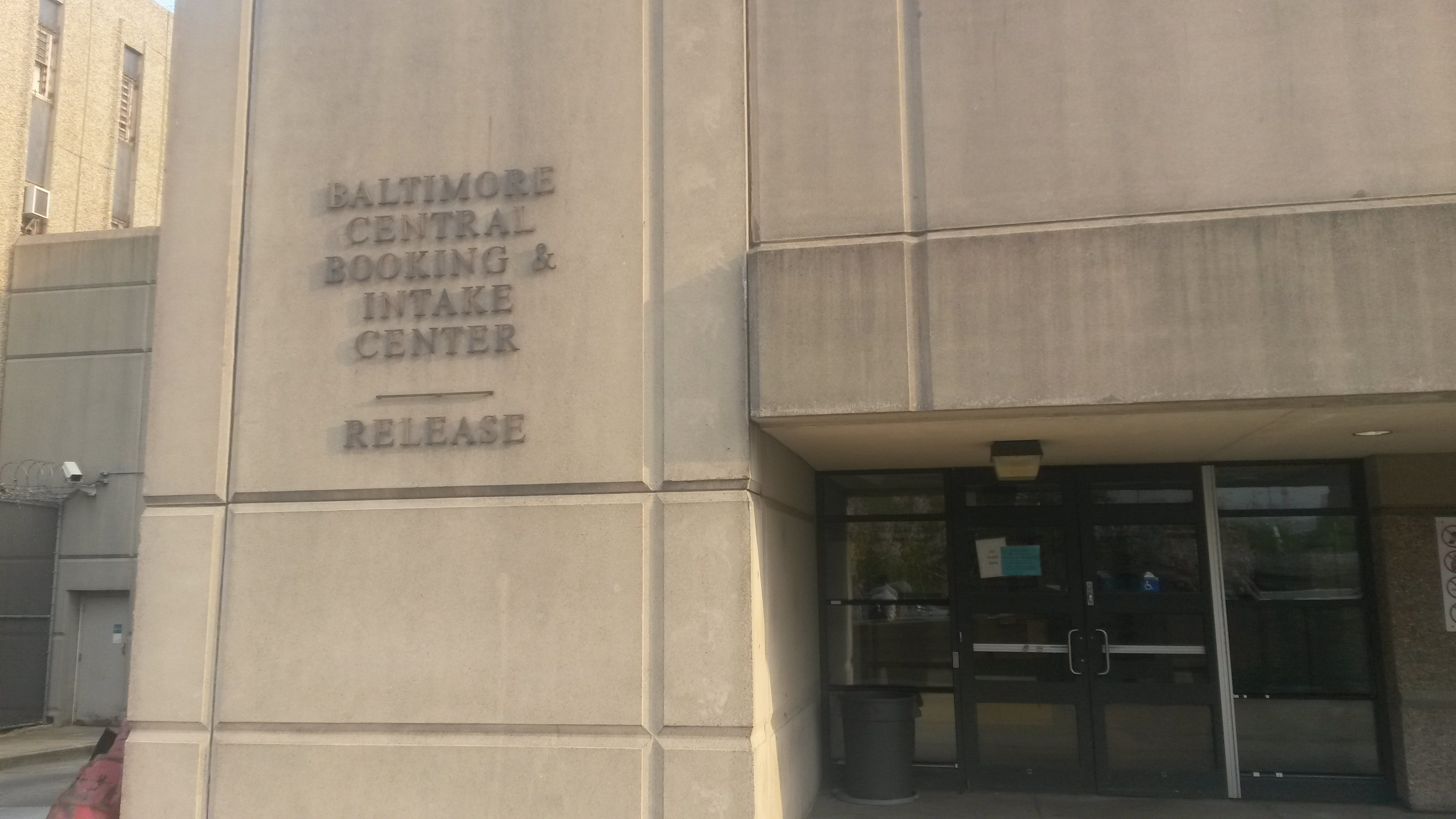 The Baltimore jail system's intake and release building. I spent a LOT of time here.