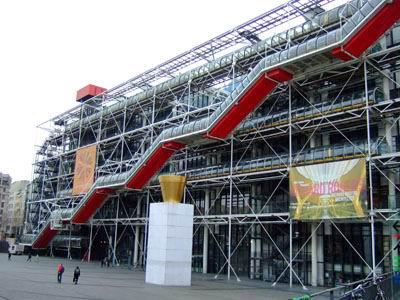 Moderne Le le centre georges pompidou beaubourg musée national d moderne