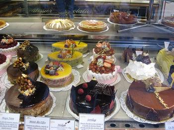 pastries at Mulot