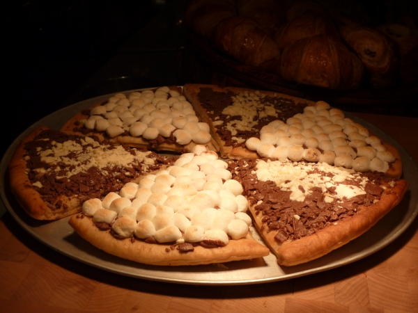 Chocolate Pizza Nyc Double Chocolate Pizza