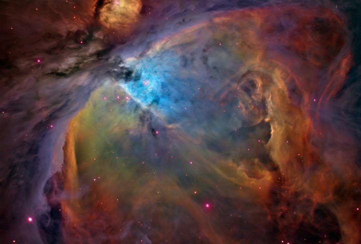 Этот снимок туманности Ориона был сделан астрономом-любителем Расселом Кроманом...