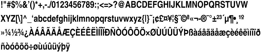 Helvetica-Condensed-BoldObl
