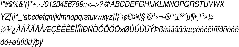 Helvetica-Condensed-Oblique