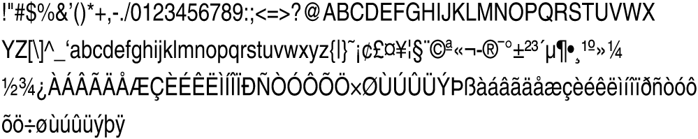 Helvetica-Condensed