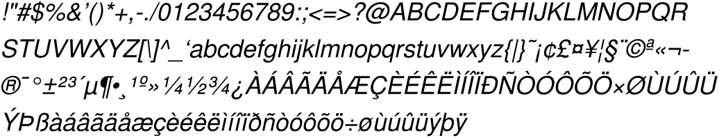 Helvetica-Oblique