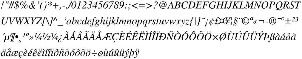 Times-Italic