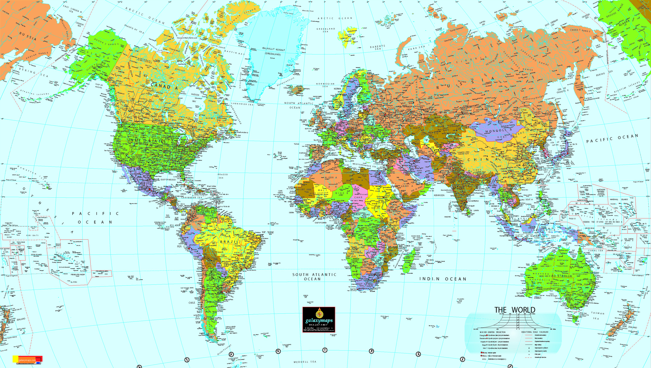 World Map Un