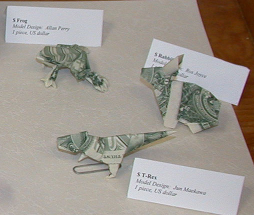 Origami From Dollar Bills