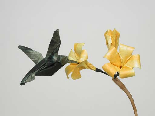 Origami Hummingbird Instructions - photo#24