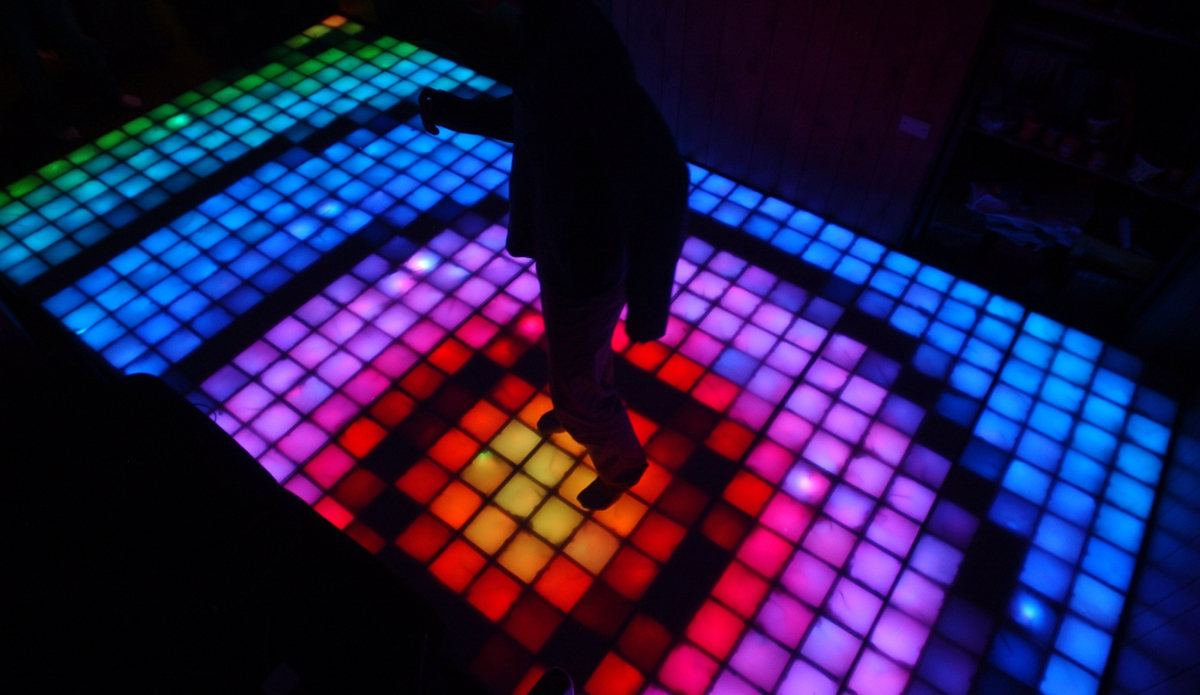 Dropout design and the disco dance floor mit admissions for 1234 lets on the dance floor
