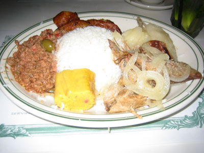 y Cristianos Cuban Food