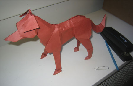 The Year Of Origami Dog