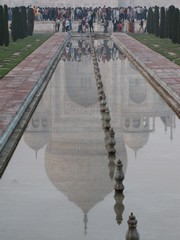 Agra077_TajMahal_Reflections